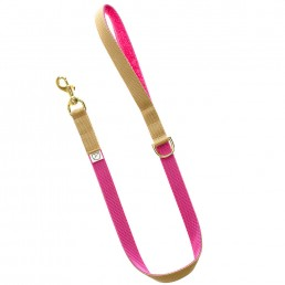 luxury pink dog lead and lead doggie apparel
