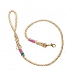 Doggie Apparel Natural Rope Dog Lead 'Shottendane'