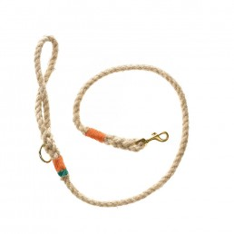 Doggie Apparel Natural Rope Dog Lead 'Lombard'