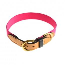 Doggie Apparel Luxury Leather Dog Collar 'Dreamland'