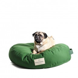 doggie apparel luxury green dog bed