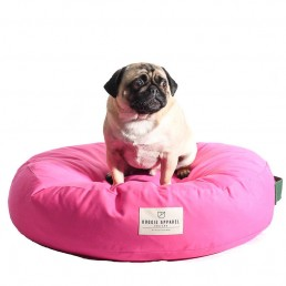 doggie apparel luxury pink dog bed 'duke'