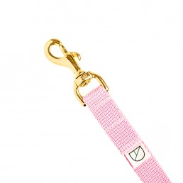 doggie apparel luxury handsfree dog lead in baby pink