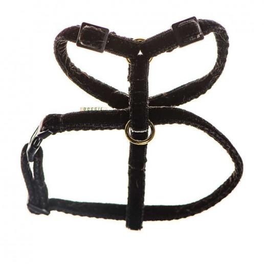teeny velvet dog harness